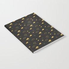 Golden Clouds Notebook
