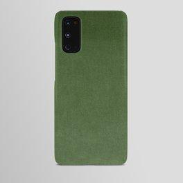 Sage Green Velvet texture Android Case