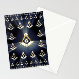 Freemason Symbolism Stationery Cards