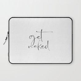 get naked Laptop Sleeve