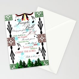 Jingle Jingle Stationery Cards