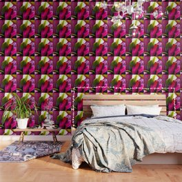 Ti Leaf Bouquet Wallpaper