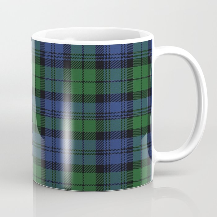 Clan Campbell Tartan Coffee Mug