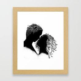 You Make the Flowers Grow Framed Art Print