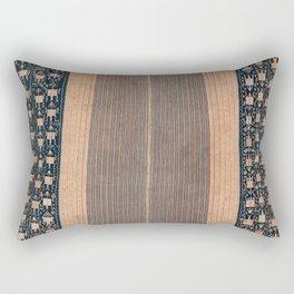 Atoni West Timor Amanatun Indonesian Wrap for Woman Print Rectangular Pillow
