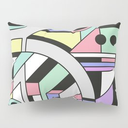 De Stijl Abstract Geometric Artwork Pillow Sham