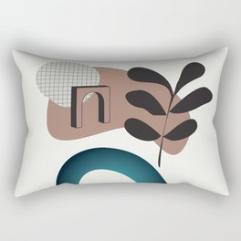 Shape study #8 - Synthesis Collection Rectangular Pillow