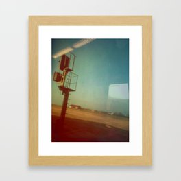 interval Framed Art Print
