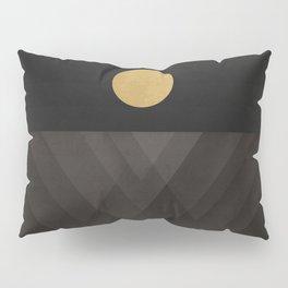 Moon Reflection on Quiet Ocean Pillow Sham