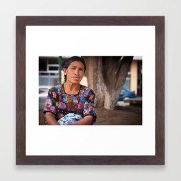Helado Framed Art Print