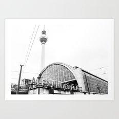 Berlin Alexandraplatz Art Print