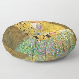 Gustav Klimt The Kiss Floor Pillow