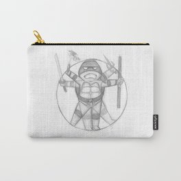Vitruvian Turtle(s) Carry-All Pouch