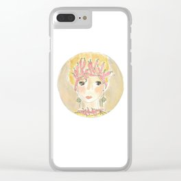 thoughts lucky Clear iPhone Case