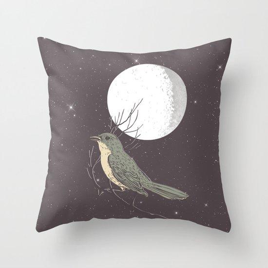 NIGHTINGALE Throw Pillow