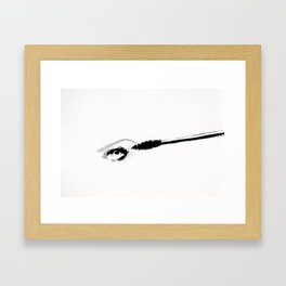 eyemascara Framed Art Print