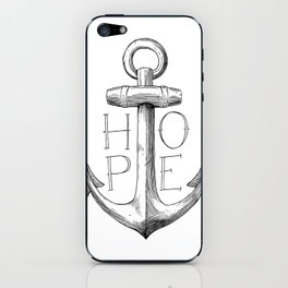 Hope is an Anchor for my Soul iPhone Skin