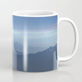 Blue dreams II. Misty mountains Coffee Mug