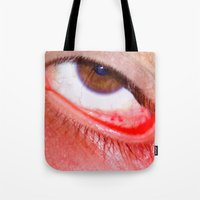 fries Tote Bags featuring Fries by AsoMohammadi