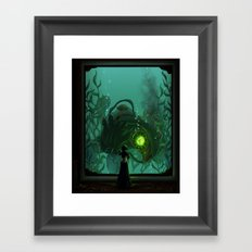 Songbird's Sacrifice Framed Art Print
