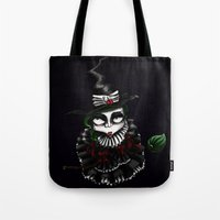 oz Tote Bags featuring Oz - Green by artlandofme