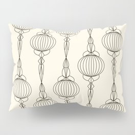 Art Deco No. 50 . Christmas decorations . Pillow Sham