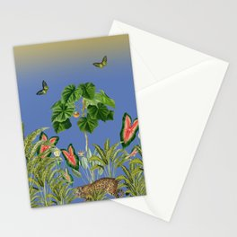 Exciting Fun And Exotic Jungle Theme Stationery Cards