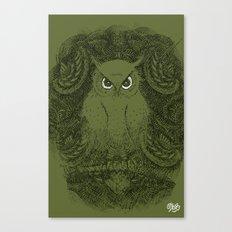 Owline Canvas Print