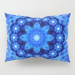 Lapis Crown Mandala Pillow Sham