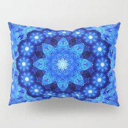Lapis Crown Mandala Pillow Sham