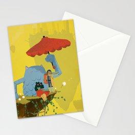 Matilda and Bouru - Melancholy Stationery Cards