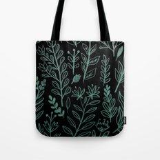 Ghost Botanic Tote Bag