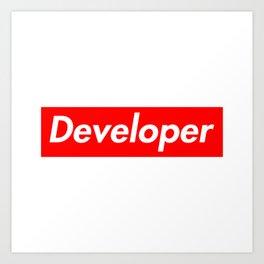 Developer - Programmer supreme Art Print