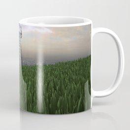 Tesla Tower In The Green Coffee Mug