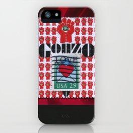 Gonzo Love iPhone Case