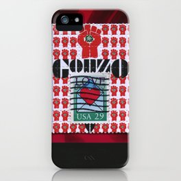 Gonzo Love iPhone Case