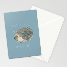 DON'T FUCKING TOUCH ME Stationery Cards