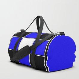 TEAM COLORS 3 ....Black , blue Duffle Bag