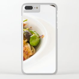 The Art of Food Bacon Sideways Clear iPhone Case