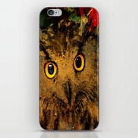 owls iPhone & iPod Skins featuring Owls by Joe Ganech