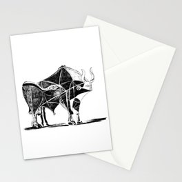 Picasso's Bull Stationery Cards