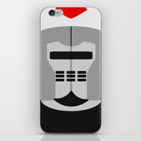 knight iPhone & iPod Skins featuring Knight by Vipes