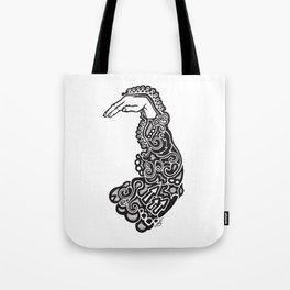 Doodle Sleeve Tote Bag