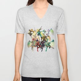 Legend of Dragoon Dragoons Unisex V-Neck