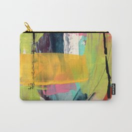 Hopeful[2] - a bright mixed media abstract piece Carry-All Pouch