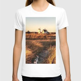 Hardings Beach Light House T-shirt