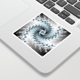 Fractal Vortex Sticker