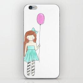 Charlie's Balloon iPhone Skin