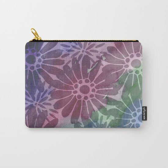 Abtract Summer Flowers I Carry-All Pouch