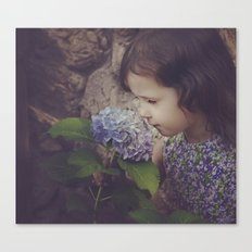 Hurry Up Spring Canvas Print